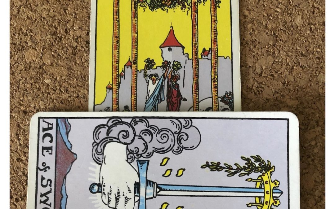 Tarot Corner – July 2020 – Message
