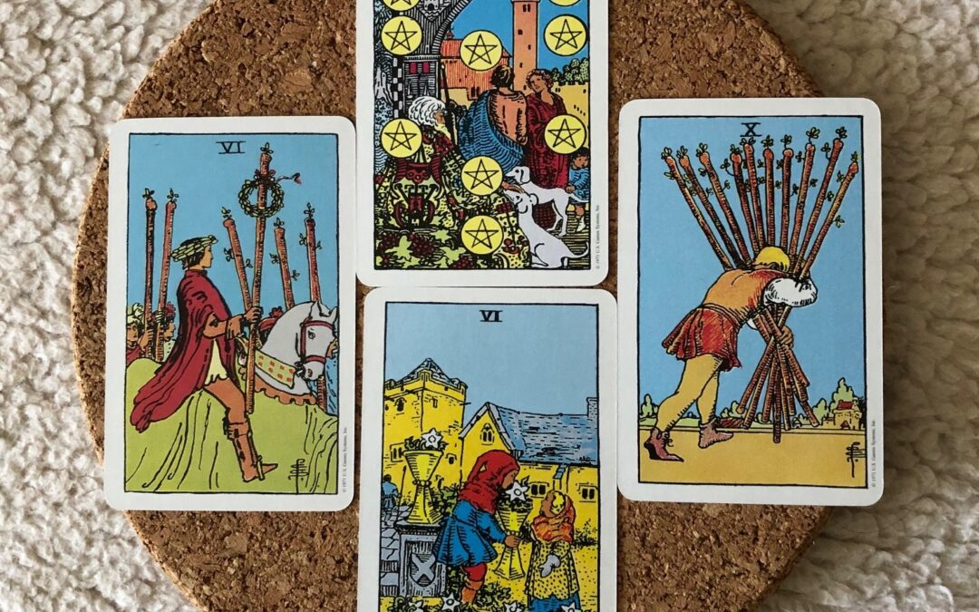 Tarot Corner – August 2020 – Connection